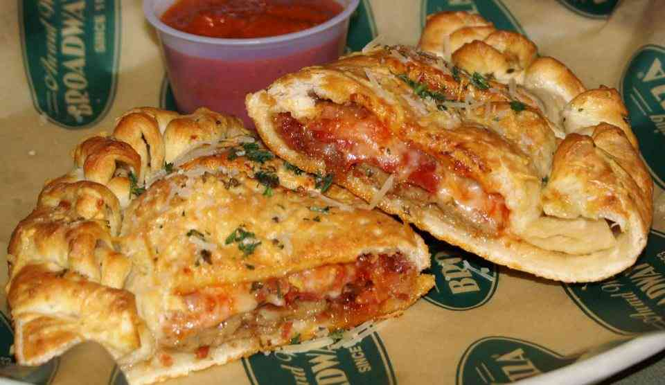 Meat at Broadway Calzone